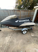 1 personal watercraft with single trailer