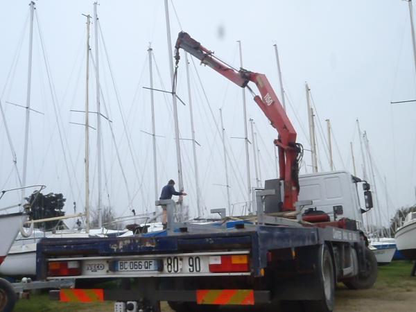 Transport de bateaux